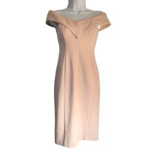 Eliza J Portrait Collar Sheath Dress